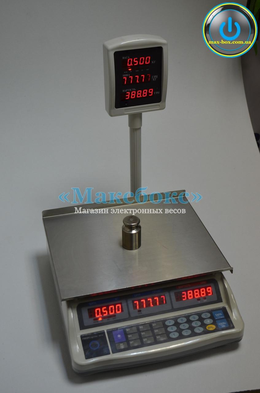 Весы торговые F902H-6E — (Днепровес)