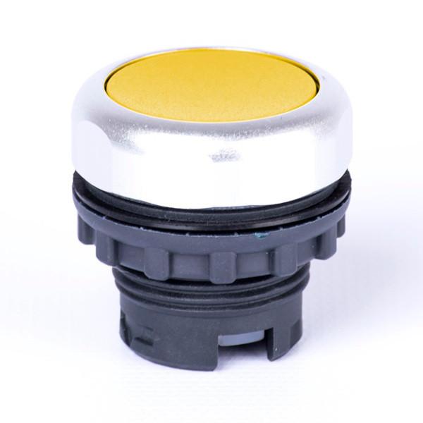 Ex9P1 F y, Кнопка желтая без фиксации (105616)