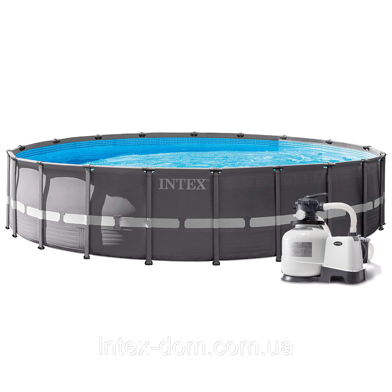Intex 26334 - каркасный бассейн Ultra Frame XTR ( 610x122 см )