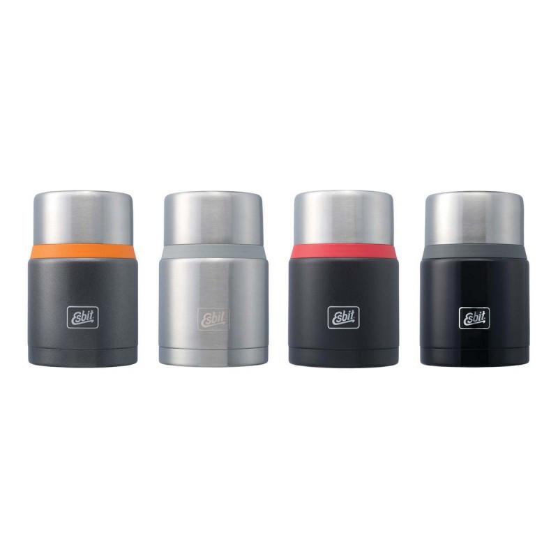 Термос для еды (обедов) с широким горлом Esbit FJ750SP-BR оригинал (0.75 л) черный с красным