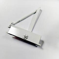 Доводчик дверной KALE KD 002/50-442 (60-85 кг) белый