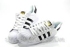 Женские кроссовки в стиле Adidas Superstar Originals, (Унисекс), фото 3