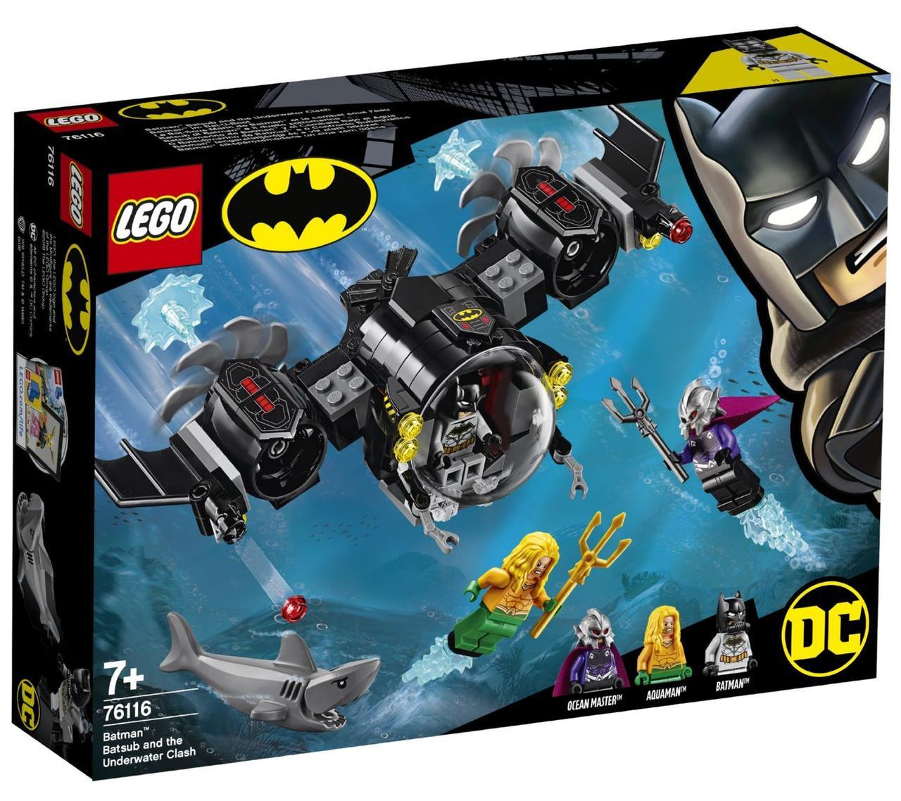 Lego Super Heroes Подводный бой Бэтмена 76116