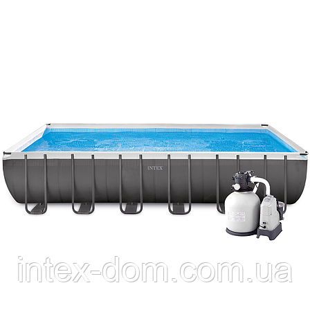 Intex 26368 - каркасный бассейн Ultra Frame XTR 732х366х132см