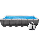 Каркасный бассейн Intex 26368 (732х366х132см) (Песочный фильтр с хлорогенератором и максимальная комплектация), фото 2