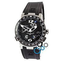 eb640fdb4849 Часы Ulysse Nardin Executive El Toro GMT Perpetual Silver-Black-Silver  механика с автоподзаводом
