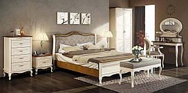 Спальня 2 Палермо Мебус дуб/белый