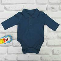 Бодик для мальчика английского бренда Mothercare 0-1 мес р52 см
