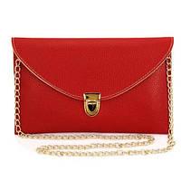 Клатч конверт сумочка Vega  Red