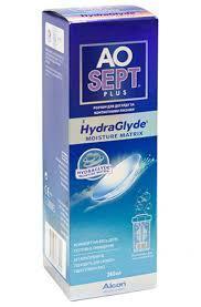 Раствор для очистки  контактных линз  AO Sept 360 ml