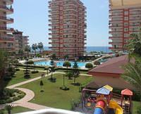 Трехкомнатная квартира с видом на море Алания Махмутлар