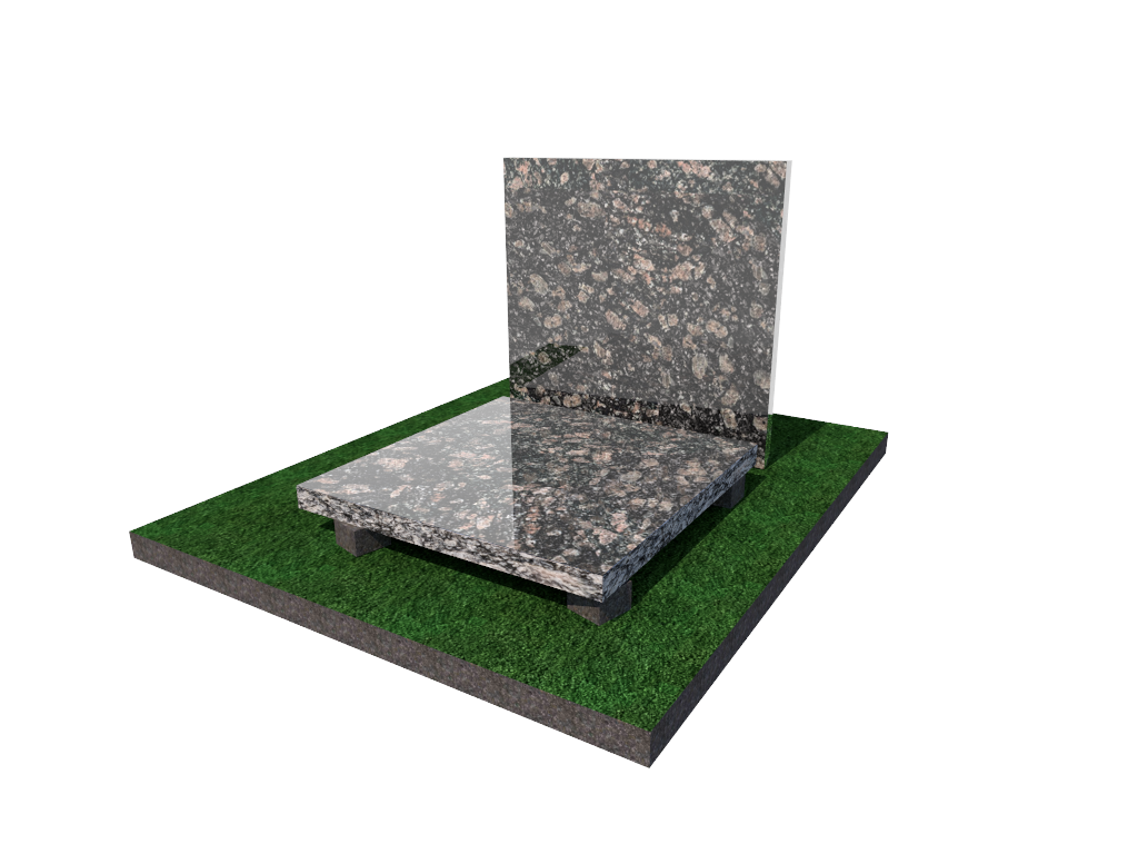 Плитка гранитная Корнинская полированная 300*300*40 (стандарт)