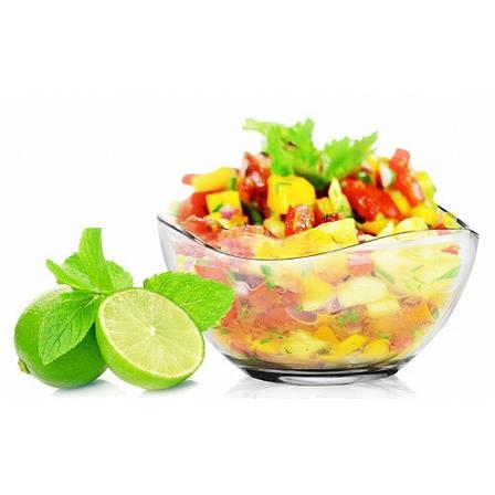 """Салатница """"Волна"""", для салатов и закусок, стекло, 21 см, фото 2"""