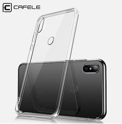 Cafele прозрачный ТПУ чехол для Xiaomi Mi 6X (Mi A2) ультра-тонкий 0.6мм