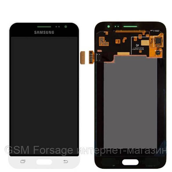 Дисплей Samsung Galaxy J3 2016 SM-J320F Original 100% (Service Pack) White