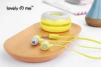 Наушники Sweety L-10 lemon (лимонный)
