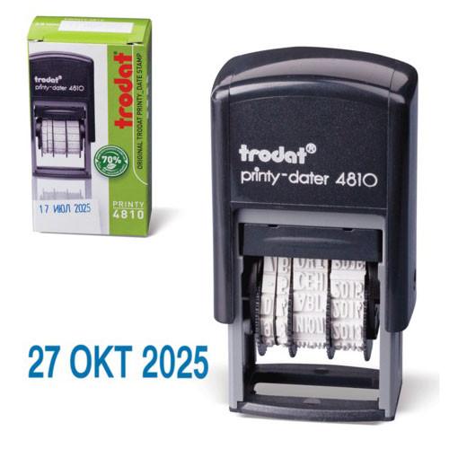 Датер Trodat 4810 UKR синий по 2020 год