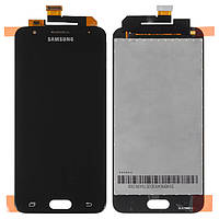 Дисплей для Samsung G570 Galaxy On5 (2016), модуль в сборе (экран и сенсор), черный, оригинал