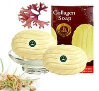 Молодильное,тайское мыло из экстракта морских водорослей Карраген и Коллагеном от Madame Heng Collagen Soap 80