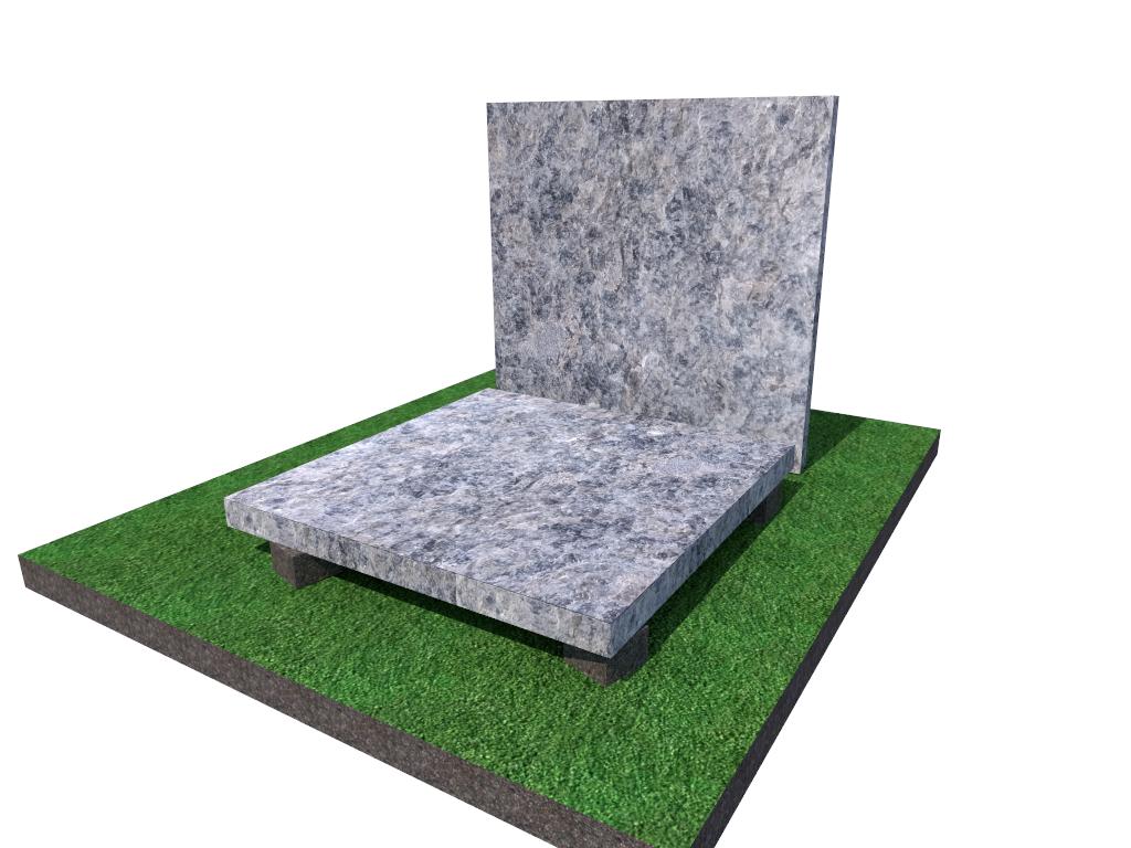 Плитка  гранитная  Лабродарит  термообработанная размер  300*300*40 (стандарт)