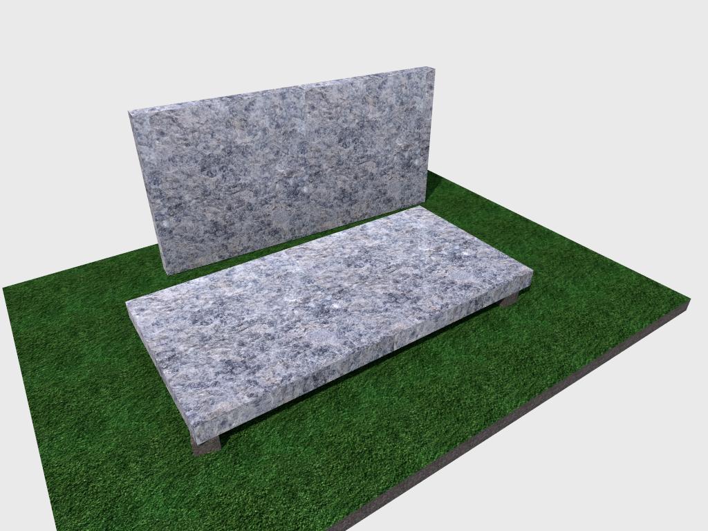 Плитка гранитная Лабродарит термообработанная 600*300*50 (стандарт)
