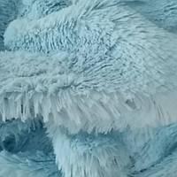 Мех-травка голубой