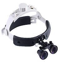 Бинокуляры B1 (3.5х-420) + LED на шлеме, фото 1