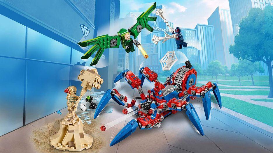Lego Super Heroes Паучий Вездеход Человека-паука 76114 — в ...