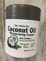 Крем для тела на кокосовом масле SPA NATURALS Coconut Oil