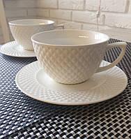 """Фарфоровый чайный набор на 6 персон """"Классика"""" 359-295"""