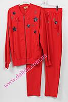 Спортивный костюм со звездами красный батальный