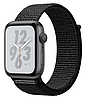 Apple Watch Series 4 Nike+ GPS 44mm Gray Aluminium with Black Nike Sport Loop (MU7J2)