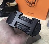 Ремень Hermes D3846 черный, фото 1