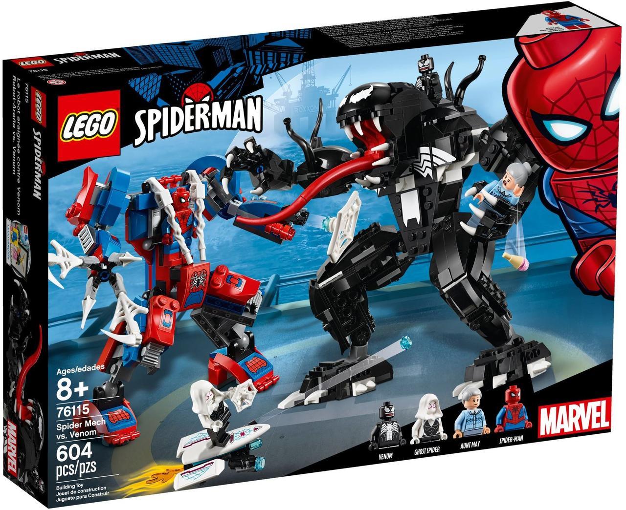 Lego Super Heroes Человек-паук против Венома 76115 ...