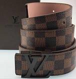 Пояс Louis Vuitton D2422 коричневый, фото 5