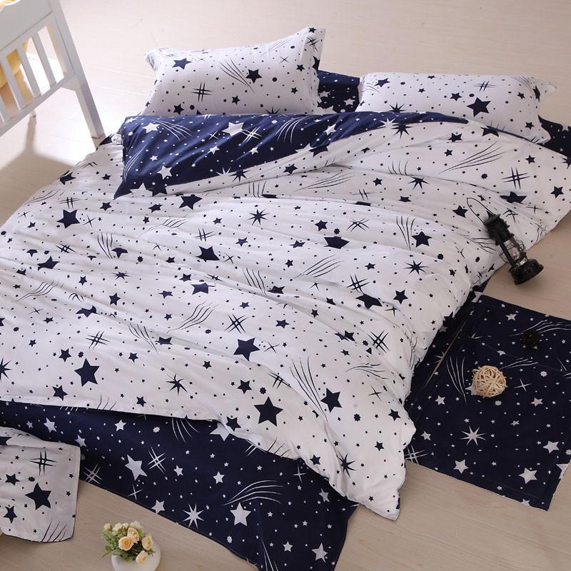 Постельное белье Звезды двуспальный-евро комплект