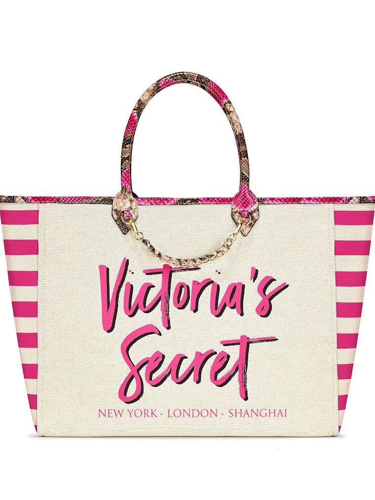 dfa0f70d7617 Оригинал Шоппер пляжная сумка большая Victoria Secret сумки Виктория Сикрет,  ...