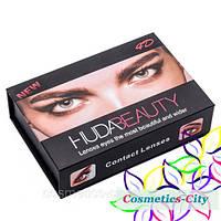 Линзы цветные косметические Huda Beauty True Sapphire (сапфир)