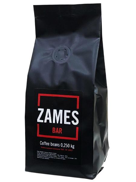 Кофе Zames Bar в зернах 250 гр