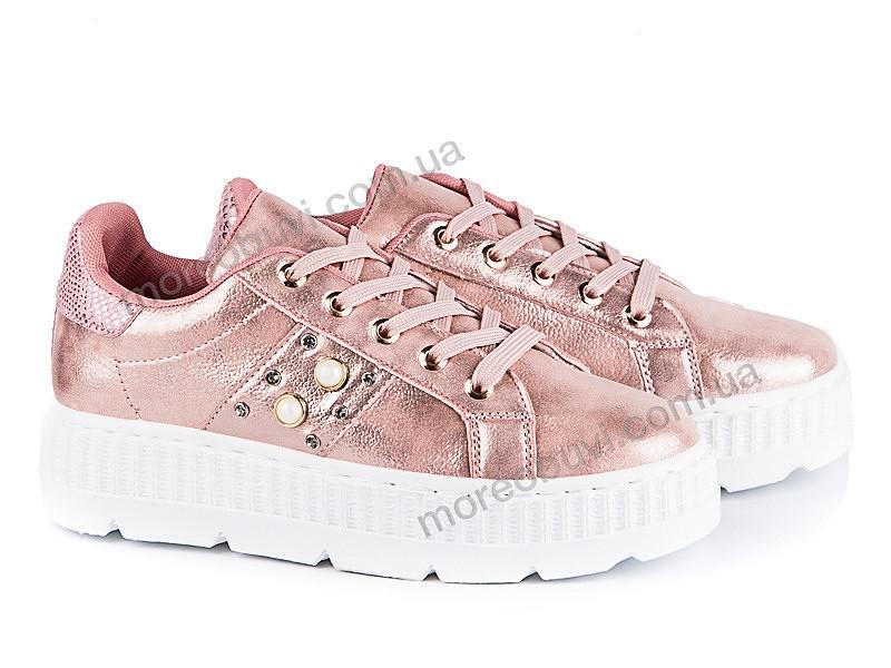 Женские кроссовки на платформе розового цвета 36-40р.