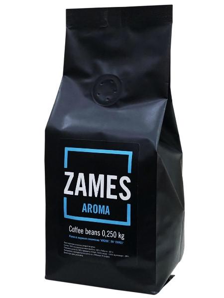 Кофе Zames Aroma в зернах 250 гр