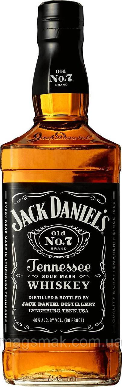 Виски Jack Daniels 40% 0.7л