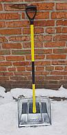 Лопата снегоуборочная оцинкованная Modul (с металлическим черенком), фото 1