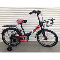 """Велосипед TopRider 703 20"""" красный детский двухколесный, фото 1"""