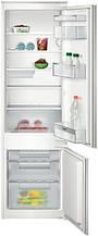 Холодильник встраиваемый Siemens KI38VX20 с нижней морозильной камерой - 177х56см/279л/статика/А+
