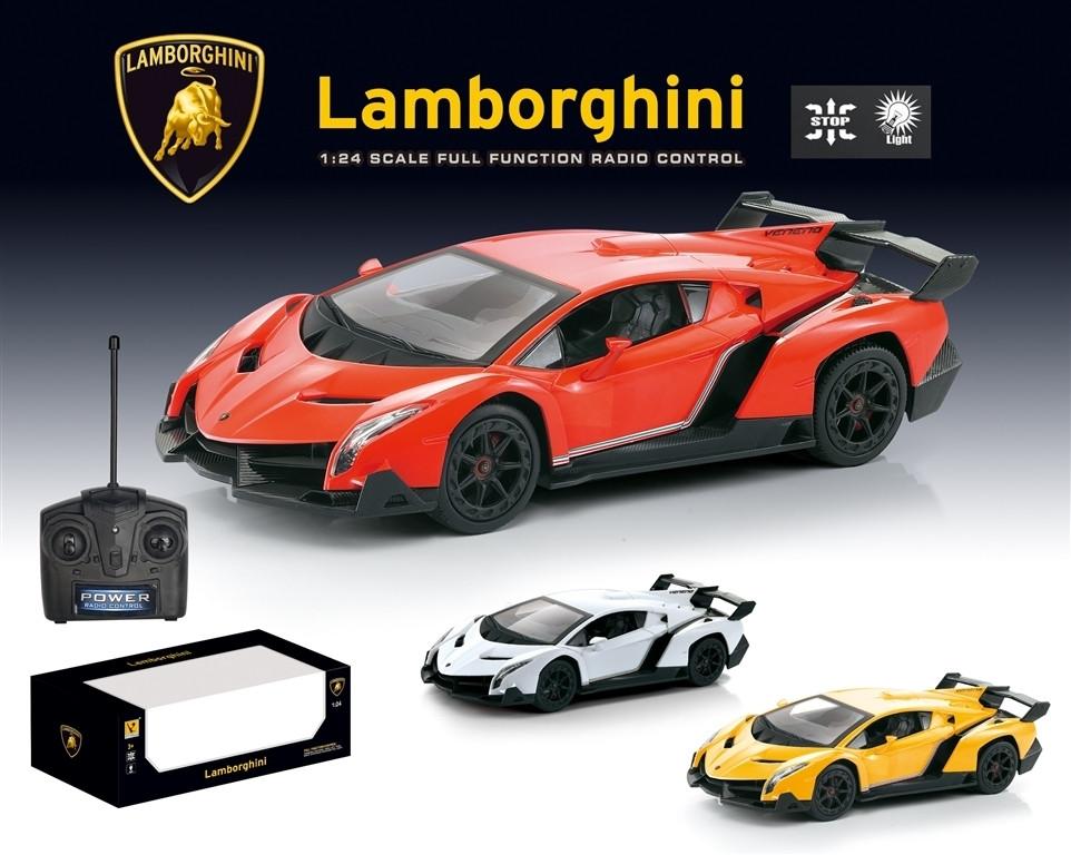 Машина Lamborghini масштаб 1:24, свет, машинка на радиоуправлении ламборджини 866-2425S