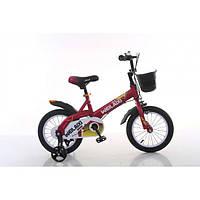 """Велосипед TopRider 876 14"""" красный детский двухколесный, фото 1"""