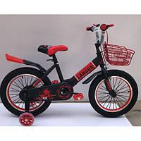 """Велосипед TopRider 866 16"""" красный детский двухколесный, фото 1"""