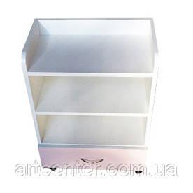 ТУМБА стационарная комбинированных цветов с ящиком
