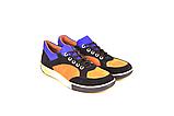 Кросівки підліткові натуральна шкіра зі вставками із замші від виробника KARMEN, фото 3